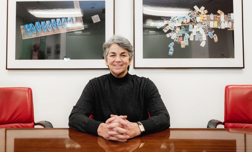 Isabelle Kirshner, partner at Clayman & Rosenberg, in her office at 305 Madison Ave. Photo: Ryland West/NYLJ