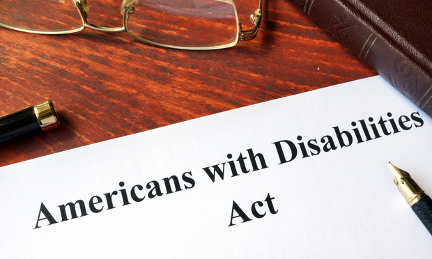 Americans with Disabilities Act/Creator: designer491/Shutterstock.com