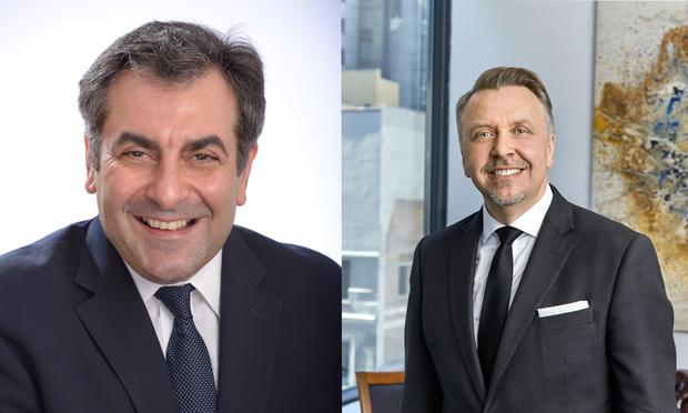 Gerry Filippatos and Valdi Licul