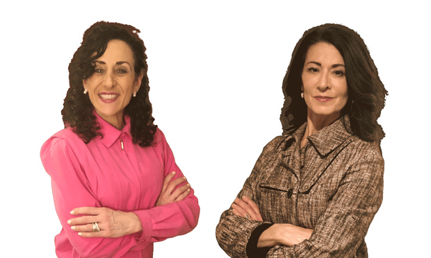 Janine Pollack, left, and Regina Calcaterra, right, partners with Calcaterra Pollack.