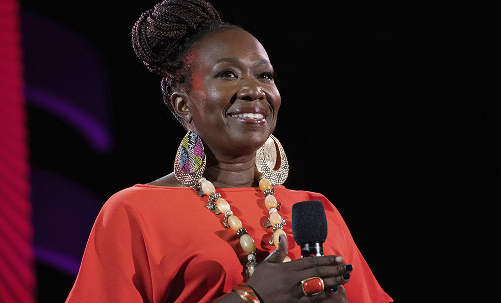 Joy Reid speaks at the 2019 Global Citizen Festival in Central Park last year. Photo: Charles Sykes/Invision/AP