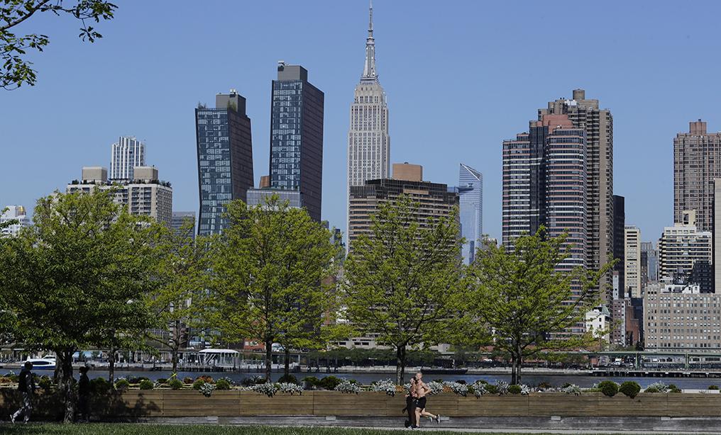 View of Midtown Manhattan. Photo: Frank Franklin II/AP