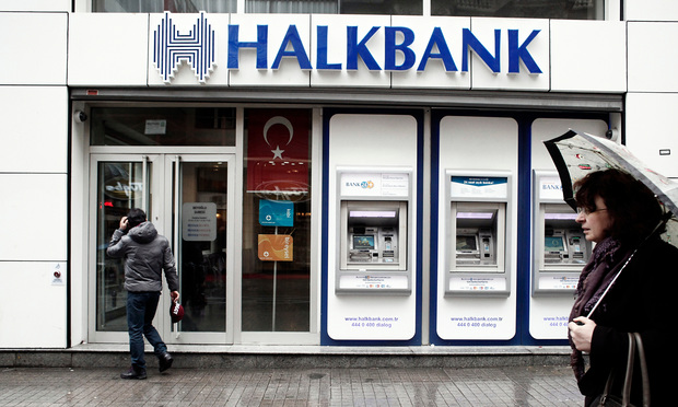 A branch of Halkbank in Istanbul, Turkey. Photo: Alexandros Michailidis/shutterstock