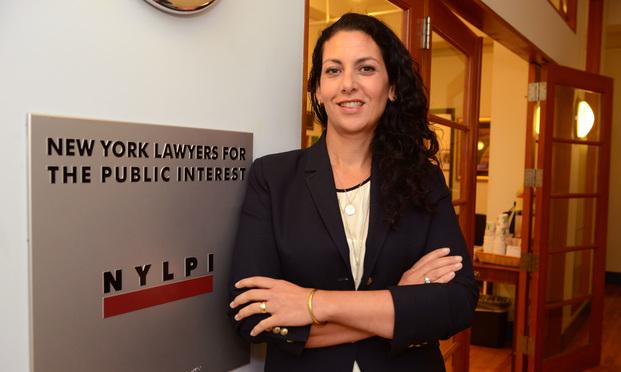 Marnie Berk, Director of Pro Bono Programs, New York Lawyers for the Public Interest