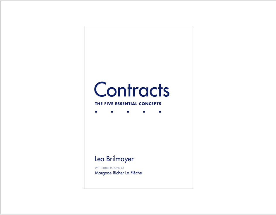 'Contracts: The Five Essential Concepts'