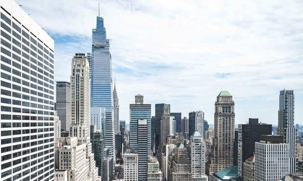 Midtown Manhattan skyline: Photo: Ryland West/ALM