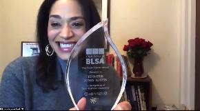 Fordham's Black Law Students Association Awards Jennifer Jones Austin With Eunice Carter Award