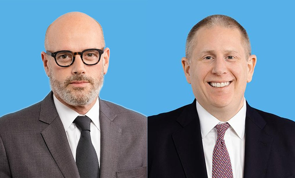 Todd Soloway, left, and Michael Levison. Courtesy photos