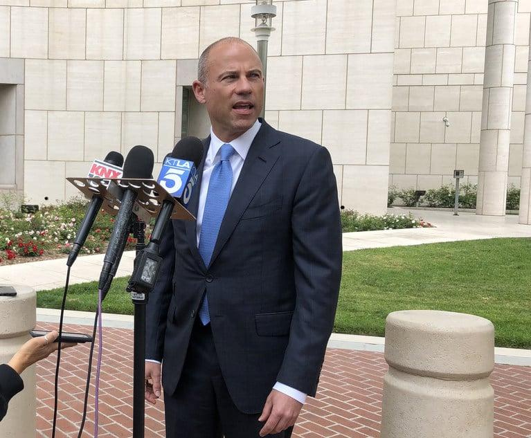 Judge Orders Release of Michael Avenatti's Financial Affidavits in Stormy Daniels Theft Case   New York Law Journal