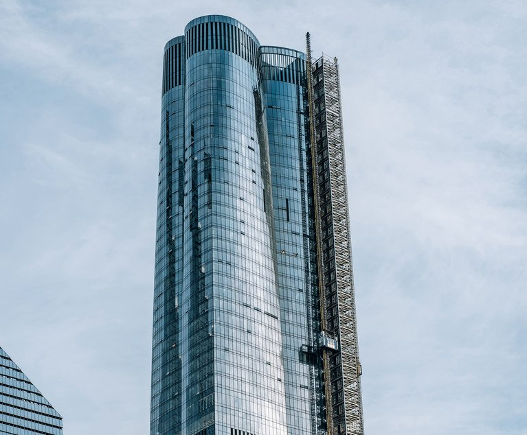 law.com - Tenants Allege That Low-Income Residents at 15 Hudson Yards Relegated to 'Poor' Building | New York Law Journal