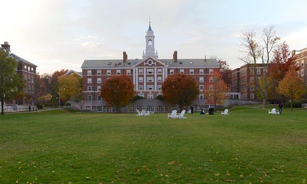Radcliffe Quad at Harvard University campus in Cambridge, Massachusetts.
