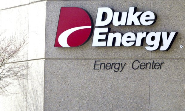 In this Feb. 1, 2006, file photo, Duke Energy Corporate headquarters in a Charlotte, North Carolina, is shown.
