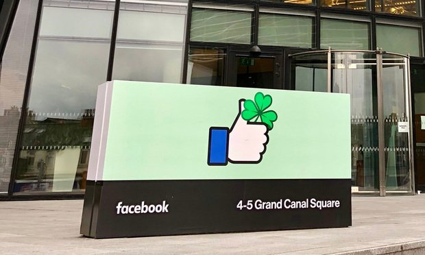Facebook corporate offices in Dublin, Ireland. Photocritical/Shutterstock.com