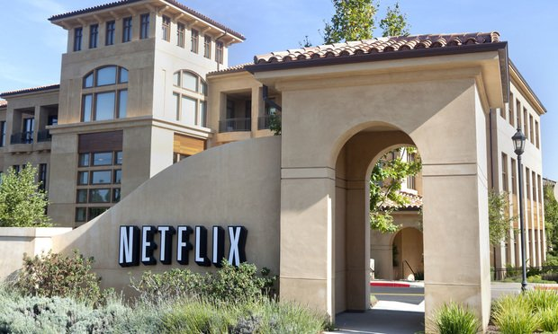 Netflix headquarters at 100 Winchester Circle, Los Gatos, California. Photo by Jason Doiy/The Recorder.