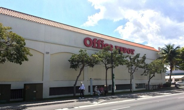 An Office Depot in Miami. Photo by AM Holt