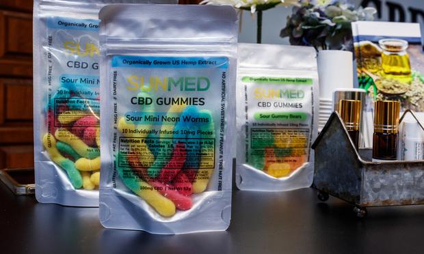 CBD Gummies products. Credit: Jonathan Weiss/Shutterstock.com