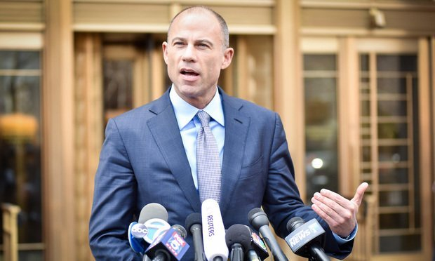 Michael Avenatti (Photo by David Handschuh/NYLJ)