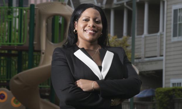 Karen R. Miniex, vice president and general counsel, Houston Housing Authority/photo by John Everett