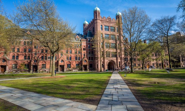 Yale University/image by Shutterstock