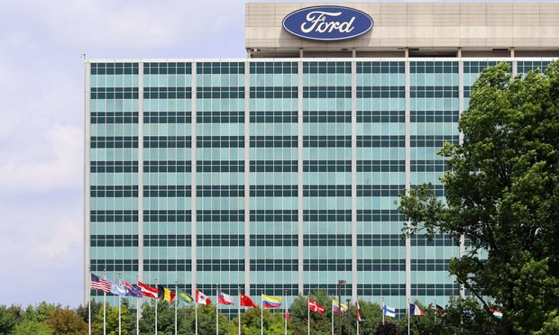 Ford Motor Co.'s world headquarters in Dearborn, Michigan. Photo by Katherine Welles/Shutterstock.com.