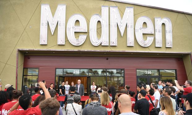MedMen store in Las Vegas.
