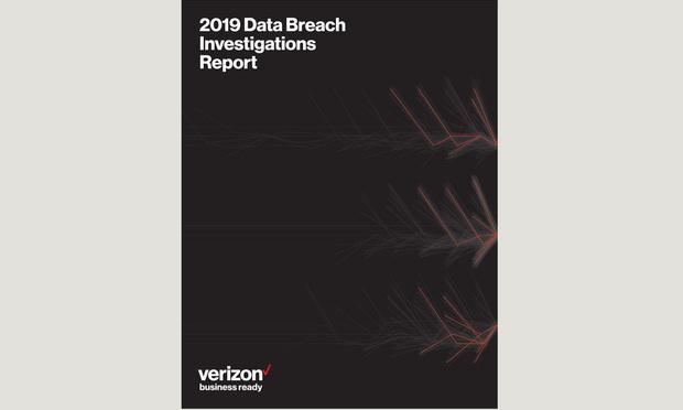 2019 Data Breach Investigations Report cover