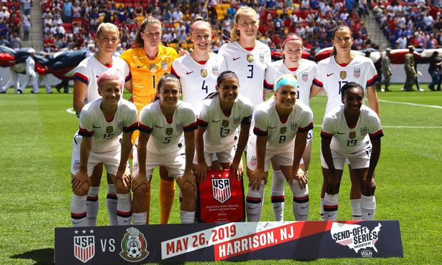U.S. Women's National Soccer Team/Credit: Leonard Zhukovsky/Shutterstock.com.