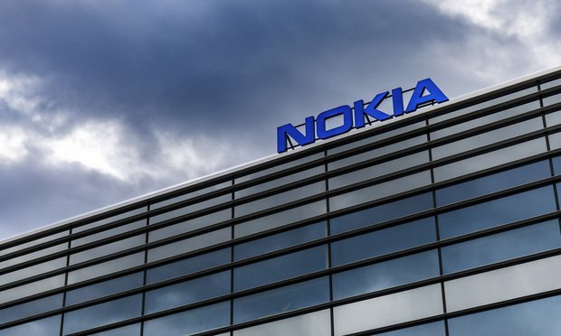 Nokia sign on building