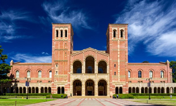 Royce Hall on the campus of University of California, Los Angeles.