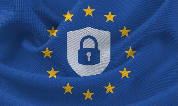 European Union General Data Protection Regulation shield icon. Photo by Shutterstock.com.