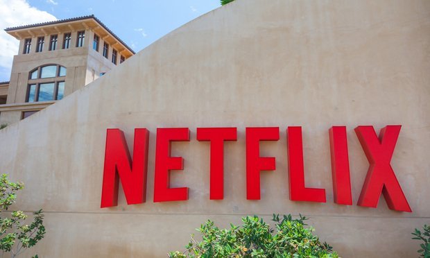 Headquarters of Netflix, in Los Gatos, California