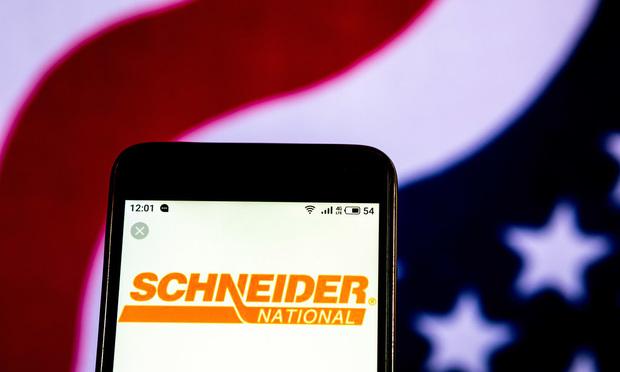 Schneider National. Credit: Shutterstock.com.