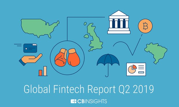 global fintech report from CB Insights