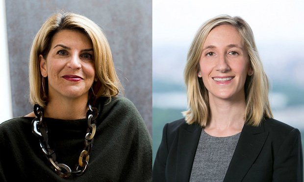 Christina Hall (left), former chief people officer at LinkedIn, and Isabelle Gold, chief compliance officer with Apollo Investment. (Courtesy photos)