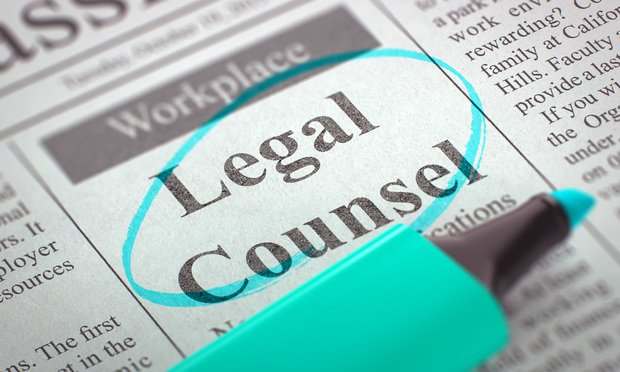 Legal Counsel ad
