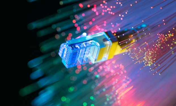 Fiber-optic broadband cables/photo by Shutterstock