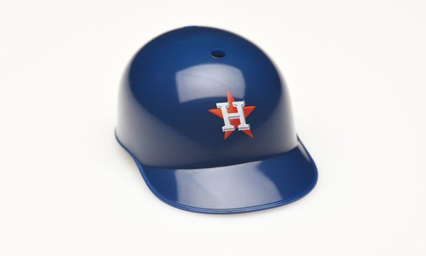 A Houston Astros helmet. Credit: Shutterstock.com