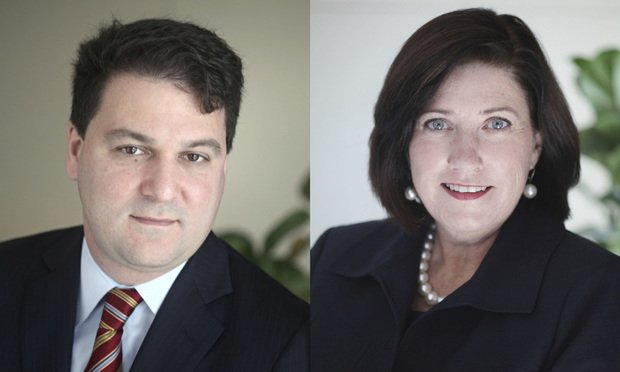 Mark Klapow and Cheryl Falvey
