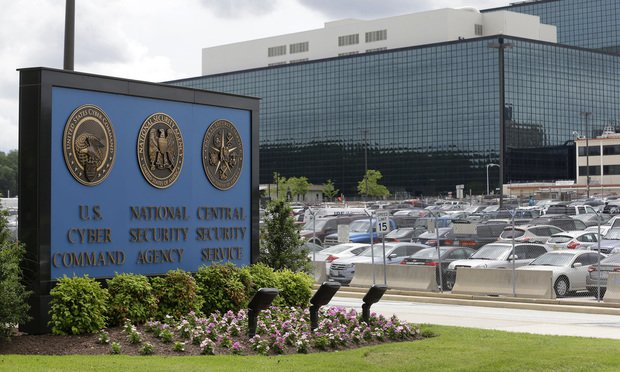 The National Security Administration campus in Fort Meade, Maryland. Photo by Patrick Semansky/AP