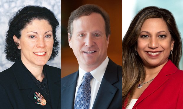 Eric Bord; Lisa Spiegel; and Punam Singh Rogers