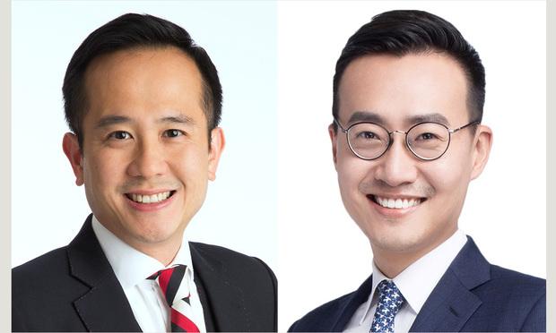 Simon Chan and Ray Liu