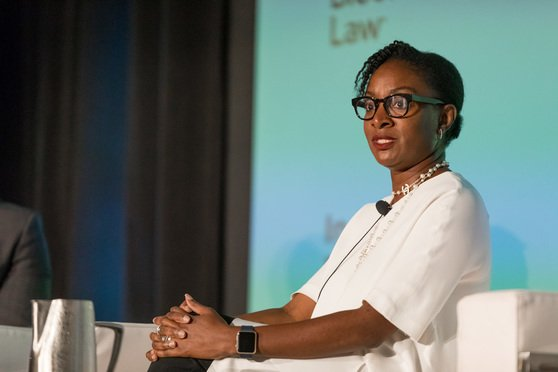 Wanji Walcott, PayPal general counsel and senior vice president. (Photo: Jason Doiy / The Recorder)