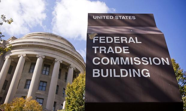 U.S. Federal Trade Commission building in Washington, D.C. Photo: Diego M. Radzinschi/ALM