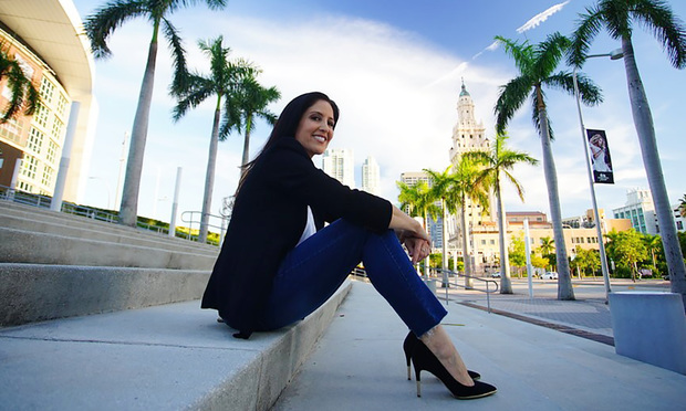 Vered Yakovee, former associate general counsel of the Miami Heat. (Courtesy photo: Vincent Rives)