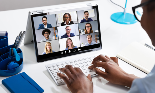 Group videoconference.