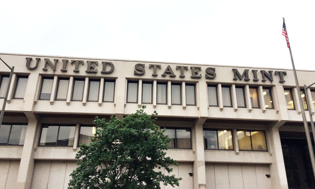 U.S. Mint in Philadelphia, Pennsylvania. Photo: Diego M. Radzinschi/ALM