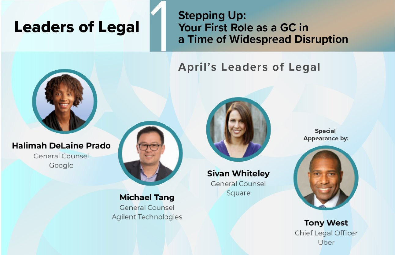 'Leaders of Legal' Launch Sets Tone for CLO Conversation Series