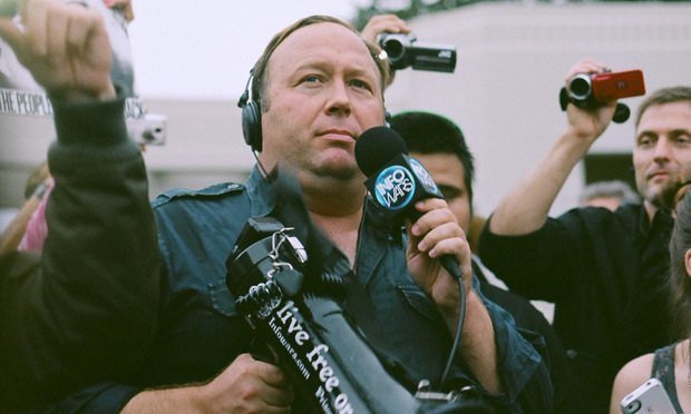 Infowars founder Alex Jones in 2014.