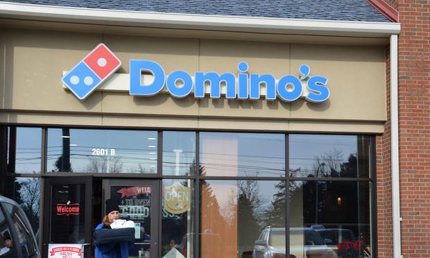 A Domino's pizza establishment