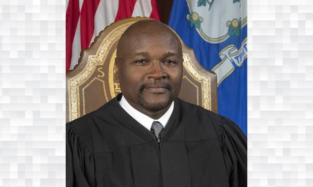 Incoming Connecticut Supreme Court Chief Justice Richard A. Robinson.